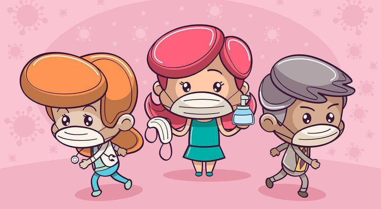 people, face mask, coronavirus